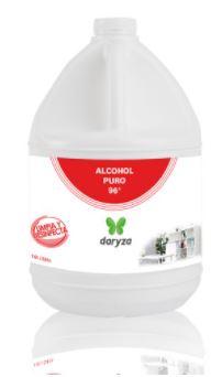 ALCOHOL PURO 96° X GALÓN 3.8 LTS - DARYZA