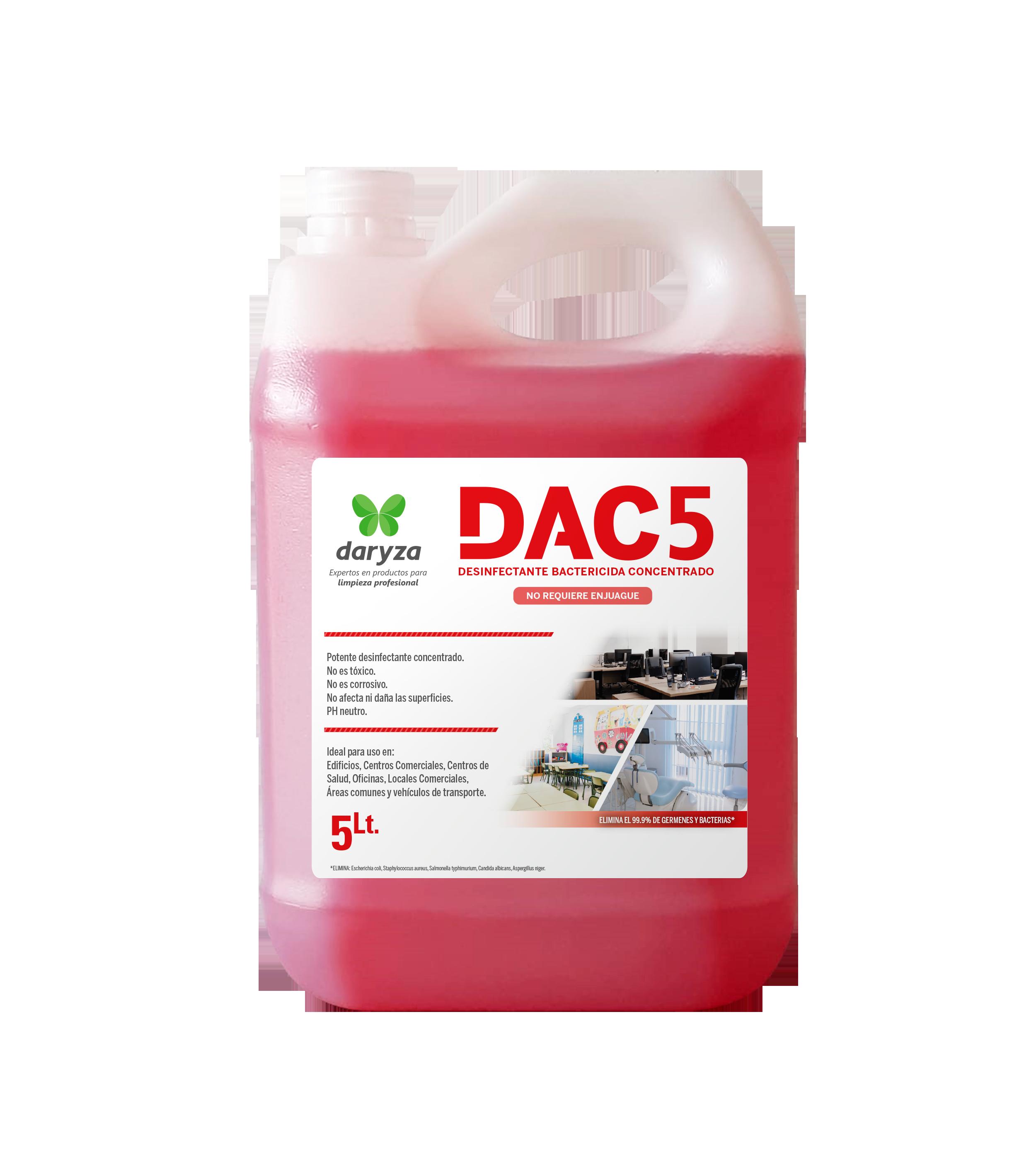 DAC5 CONCENTRADO DARYZA X 5LT